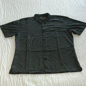 Quicksilver Button Down Shirt XXL